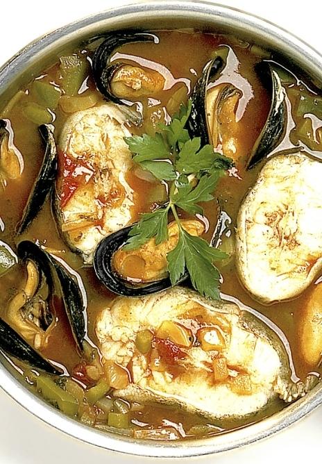 god fiskgryta utan vin