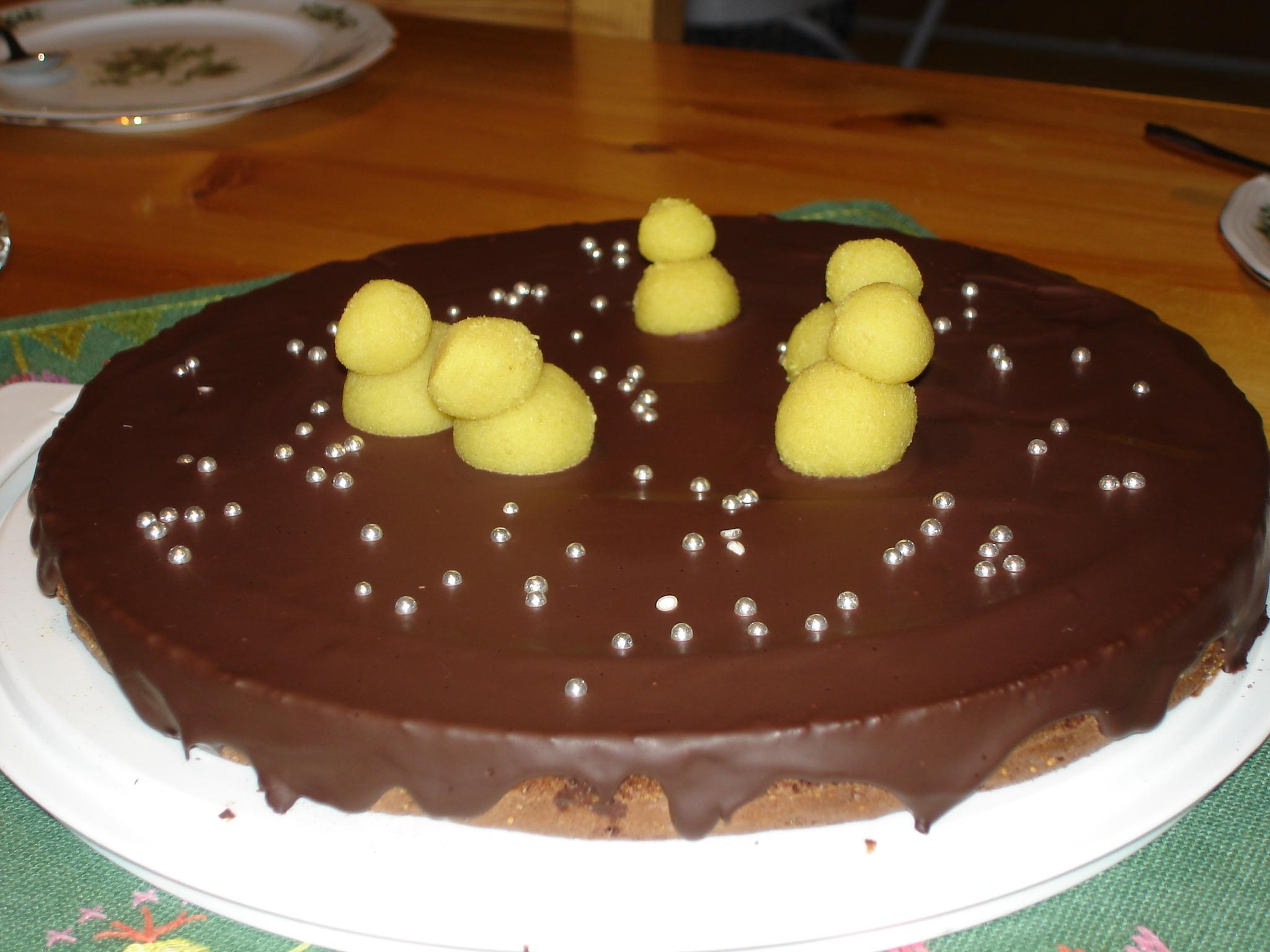 Sivs chokladkaka