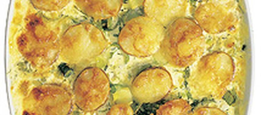 Potatisgratäng tid ugn