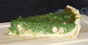 Grön kräftpaj