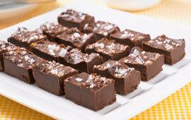 chokladtryffel flingsalt