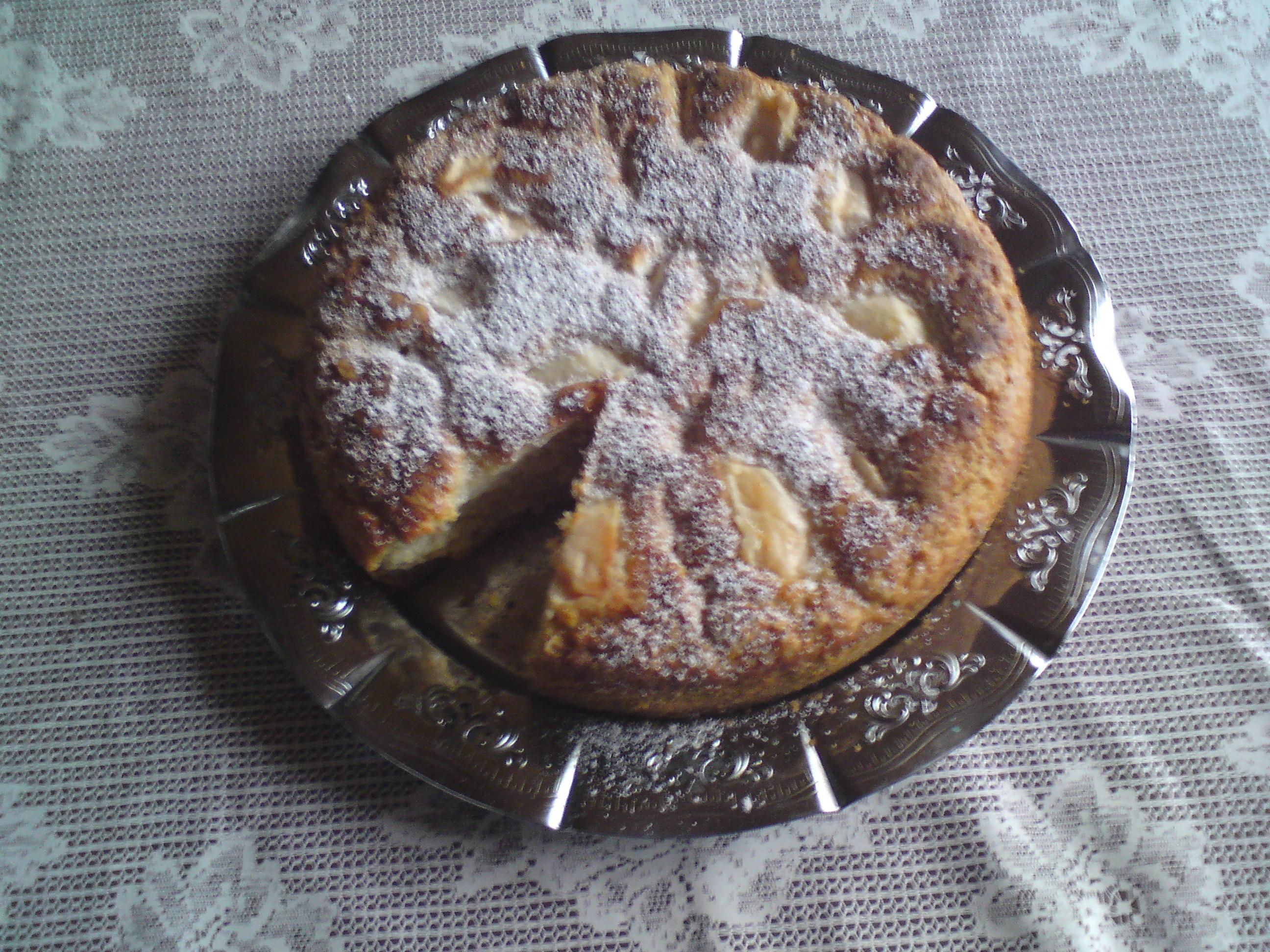god snabblagad äppelkaka