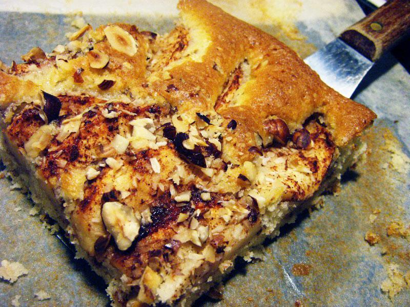 äppelkaka långpanna kokos