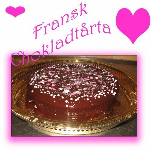 Fransk chokladtårta - som alla vill ha