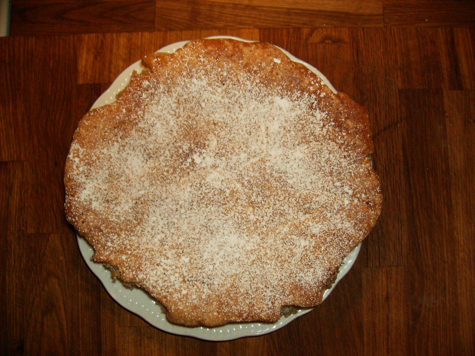 rabarberkaka utan ägg