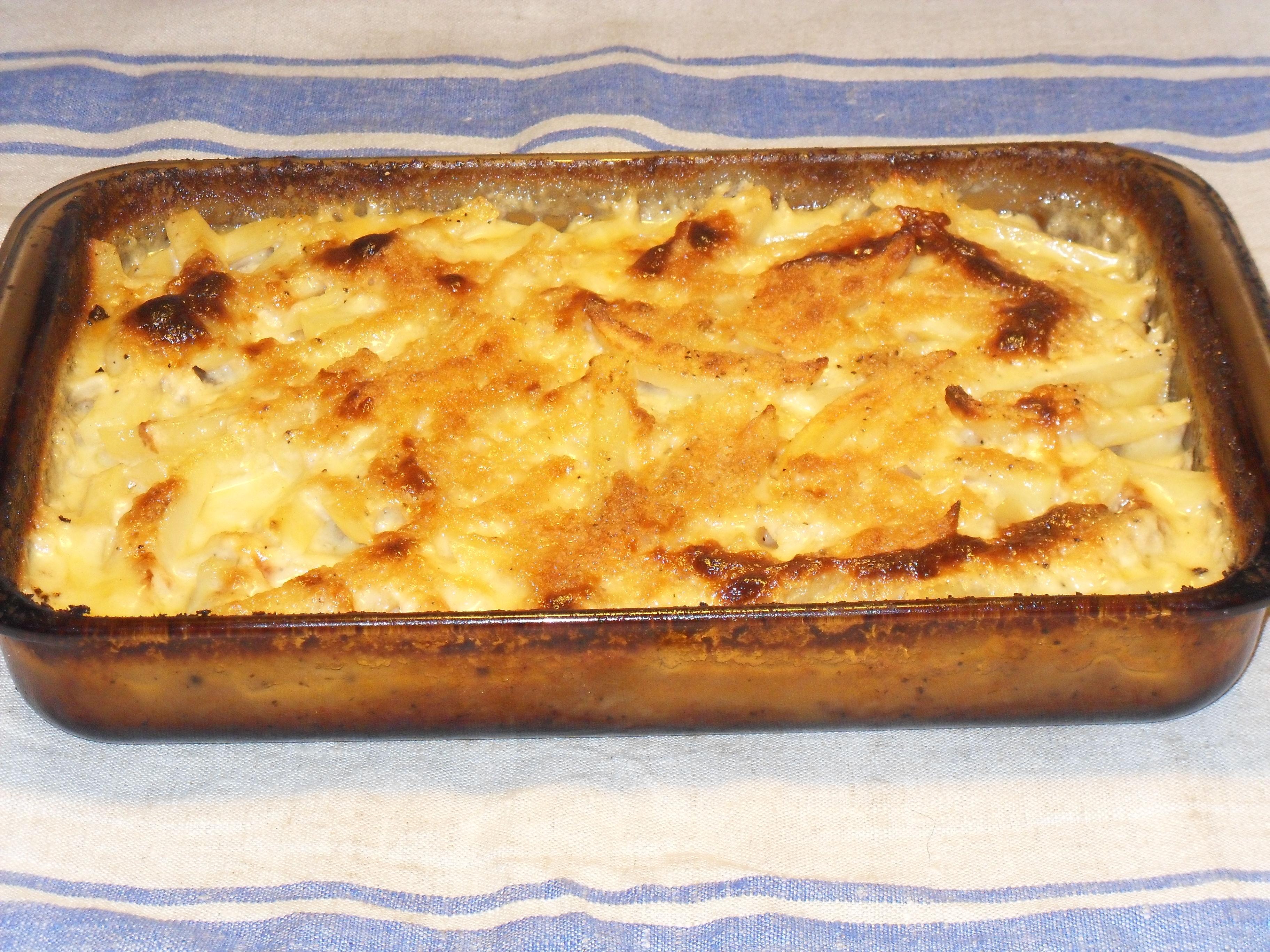 matjessill och potatis i ugn