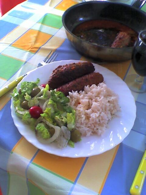 Ädelostfyllda Hamburgerspett med Bacon
