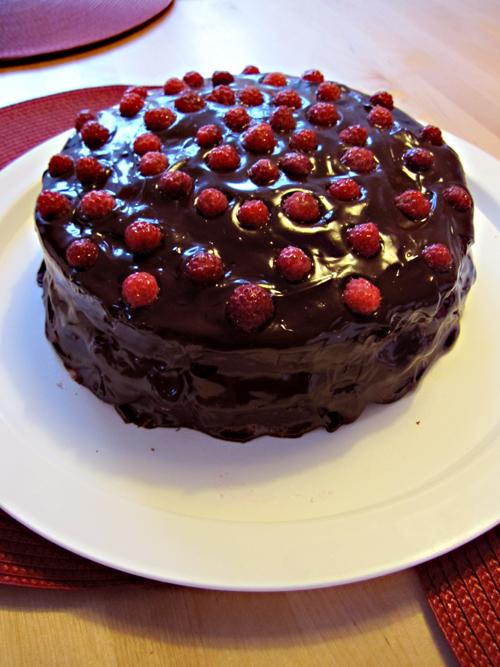Annas chokladtårta