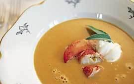 hummersoppa lyxig