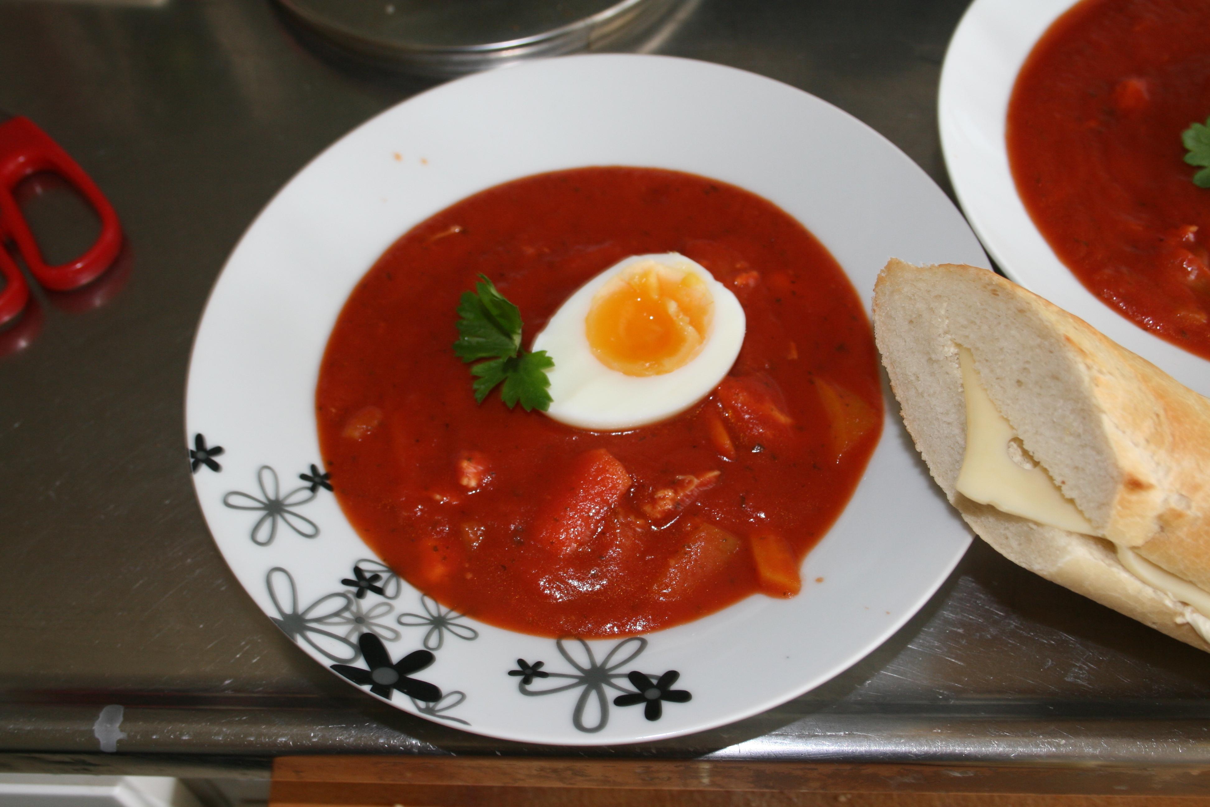 Spansk tomatsoppa