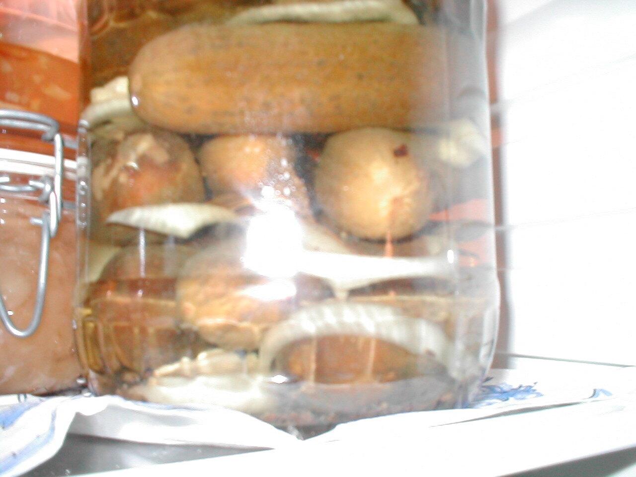 Svärmors saltgurka
