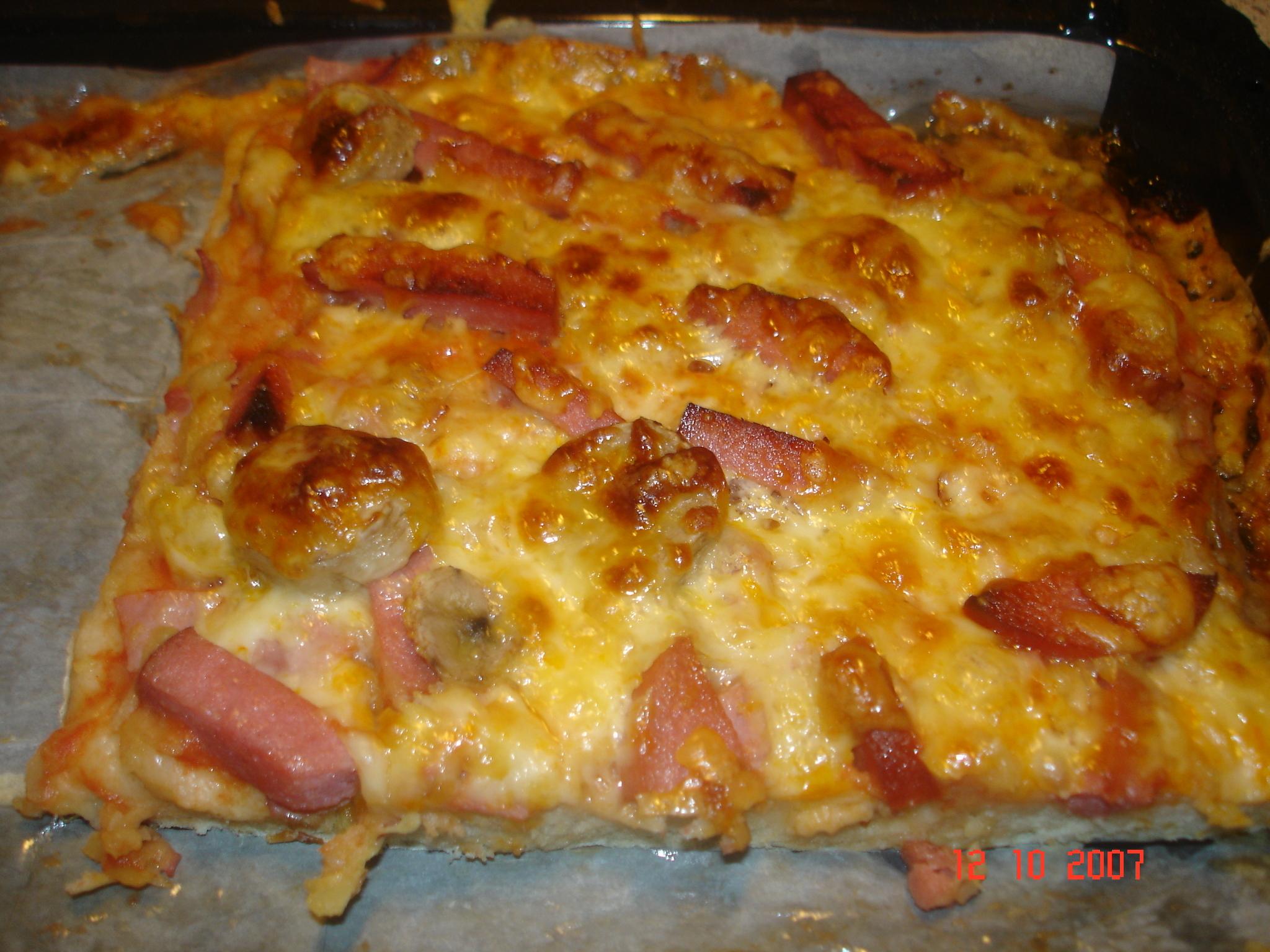 pizza för familjen