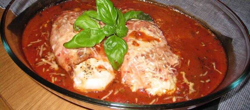 kycklingfile i tomatsås