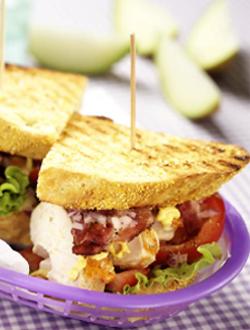 Klassisk clubsandwich