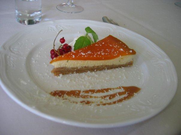 Havtornscheesecake