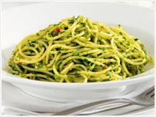 chili persilja olivolja vitlök spaghetti