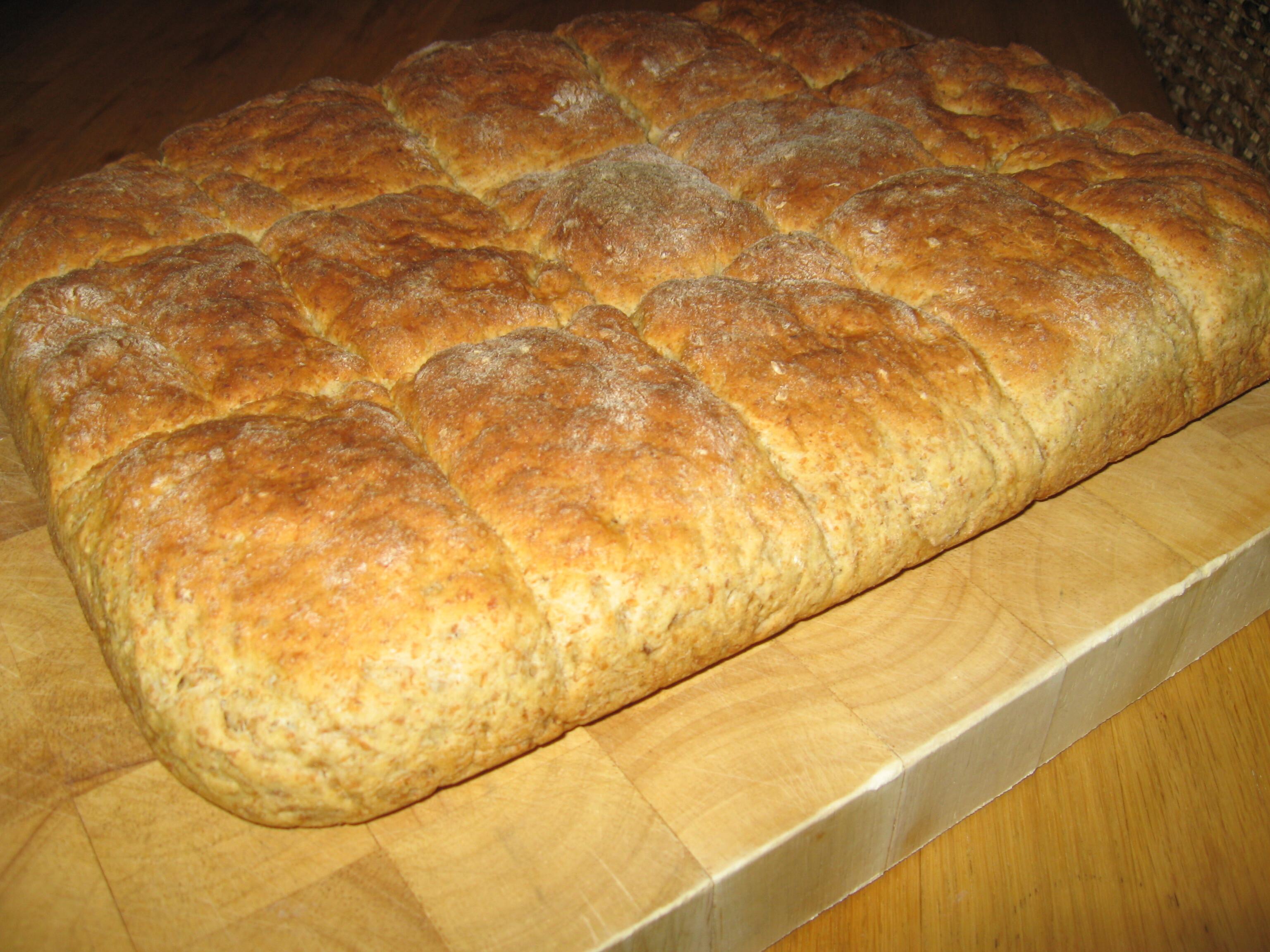 Bröd i långpann..