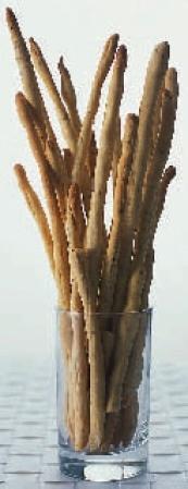 Grissini med salvia och svartpeppar