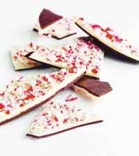 vit chokladbräck