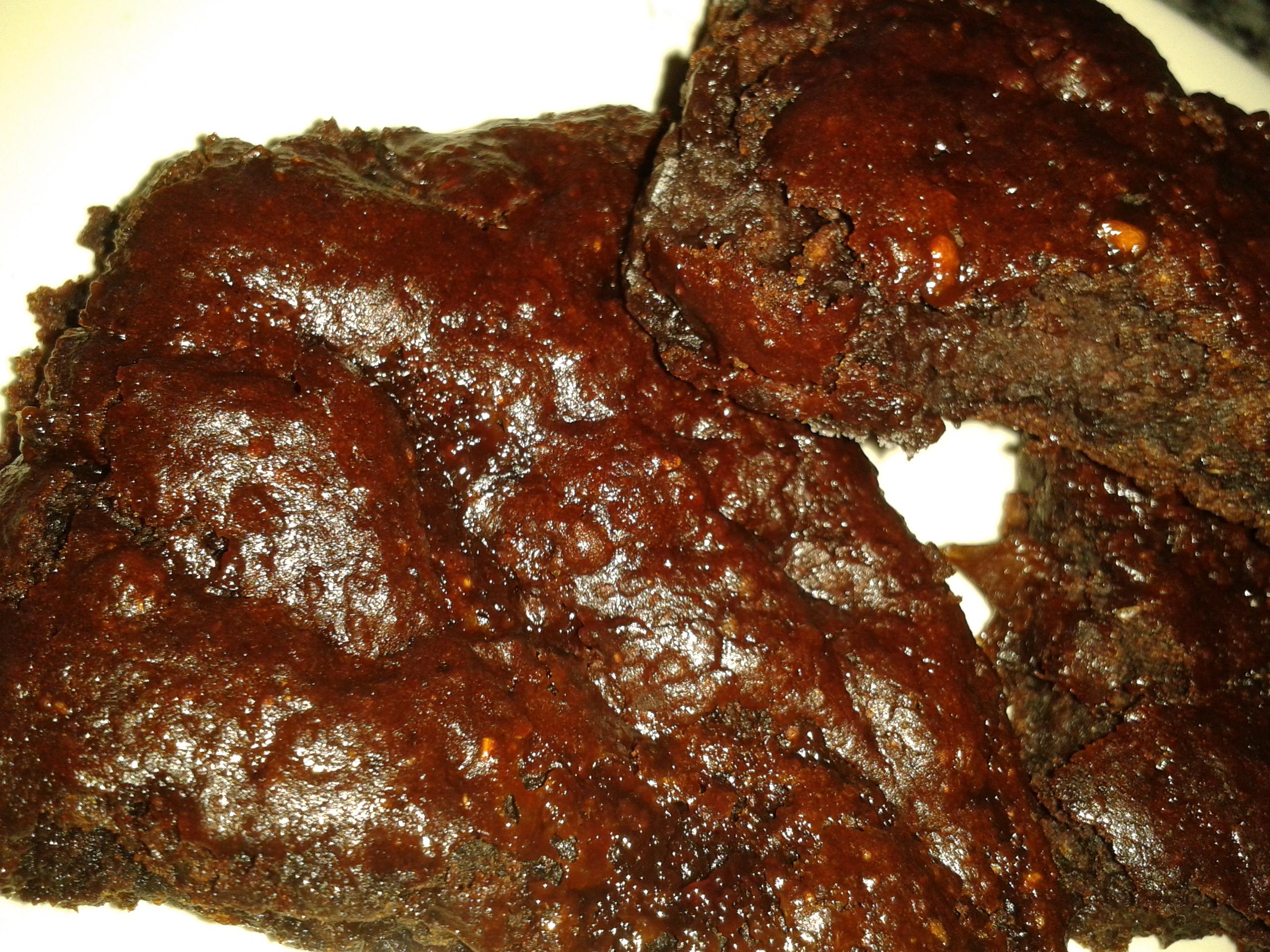 Björnbärskladdkaka, nyttig, vegansk och glutenfri