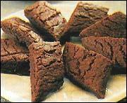 Choklad snittar