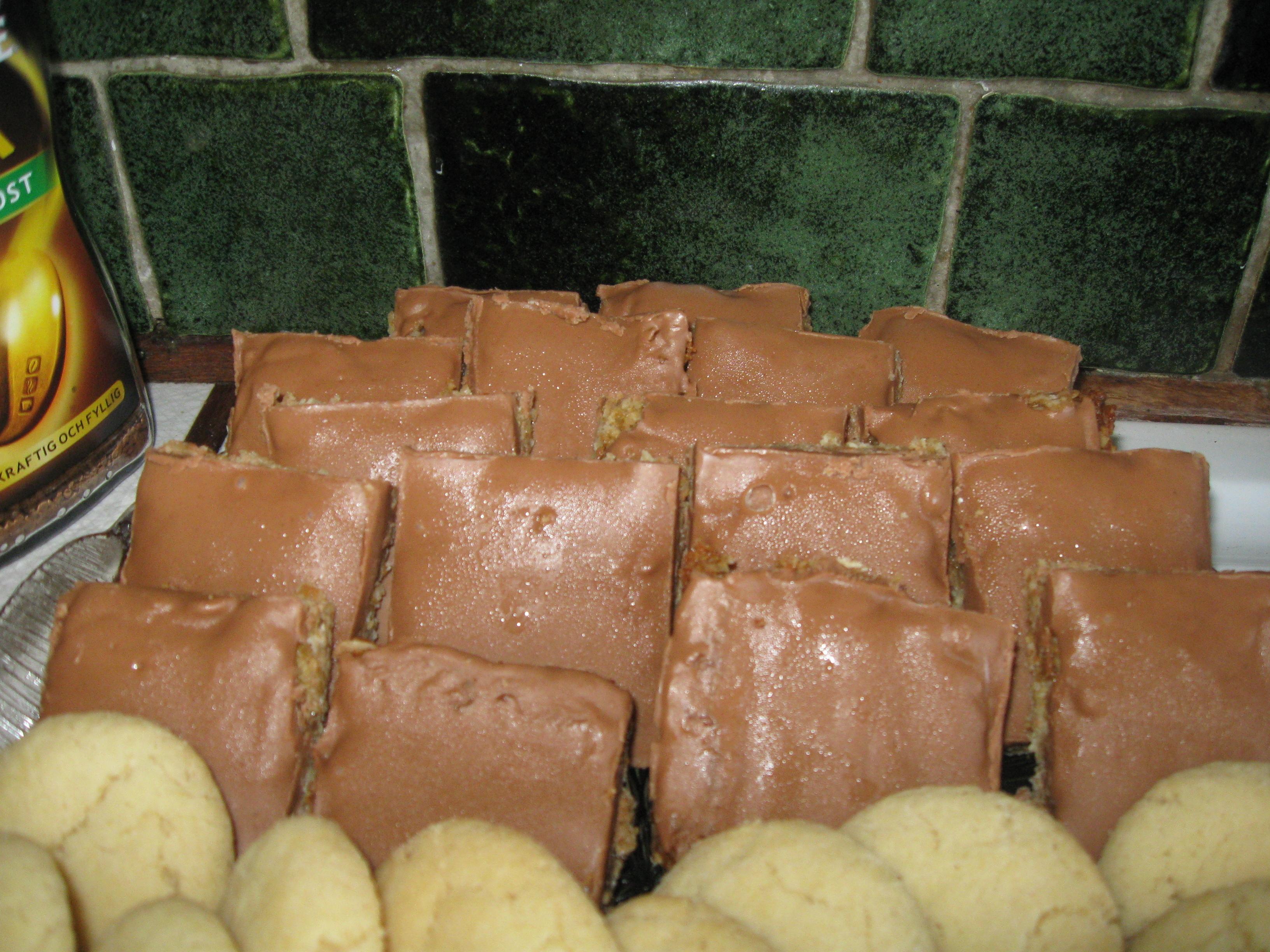 ischoklad nougat utan kokosfett