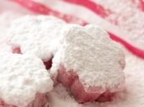 Marshmallows med körsbärssmak