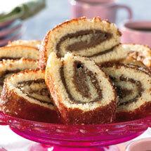 Rulltårta med choklad