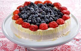 jordgubbar lime vaniljsås