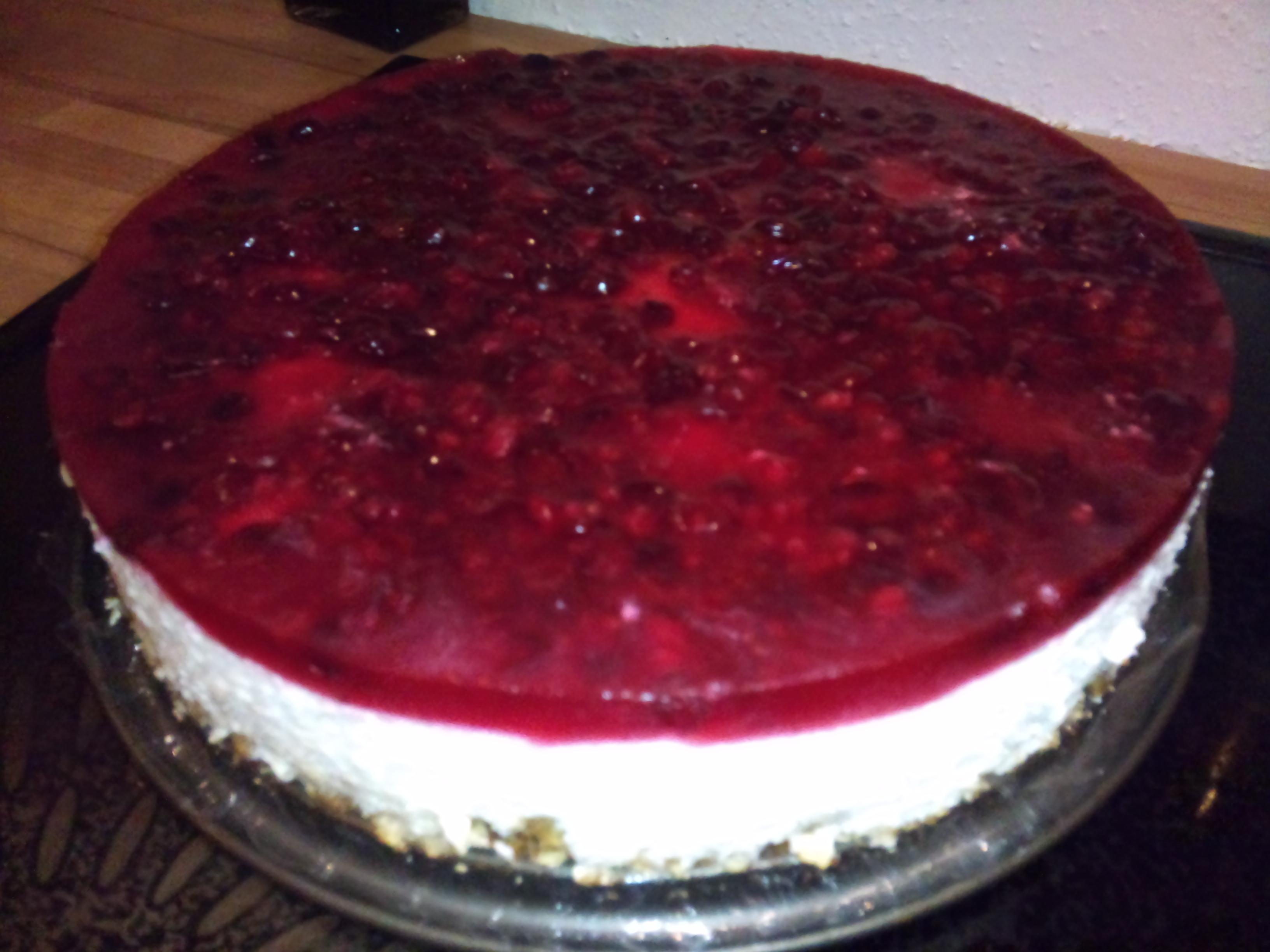 Panacotta cake ..