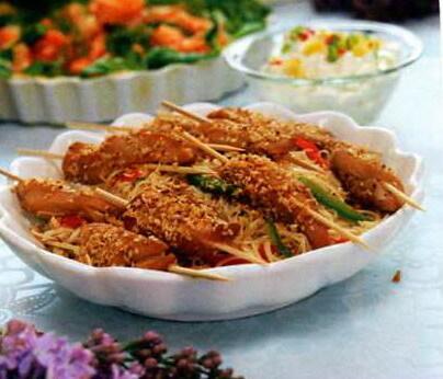 asiatisk kyckling marinad