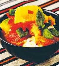 blodapelsin chili ingefära