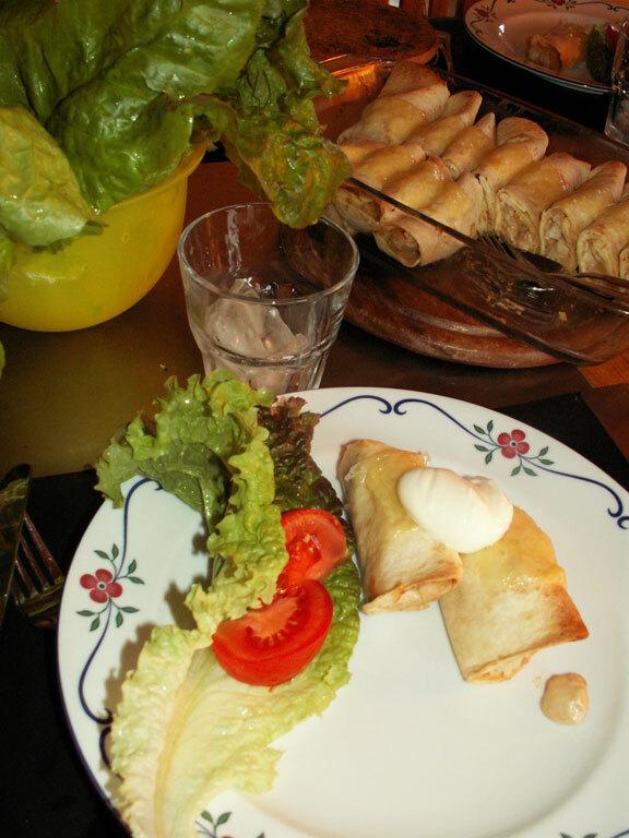 enchilada kyckling sambal oelek