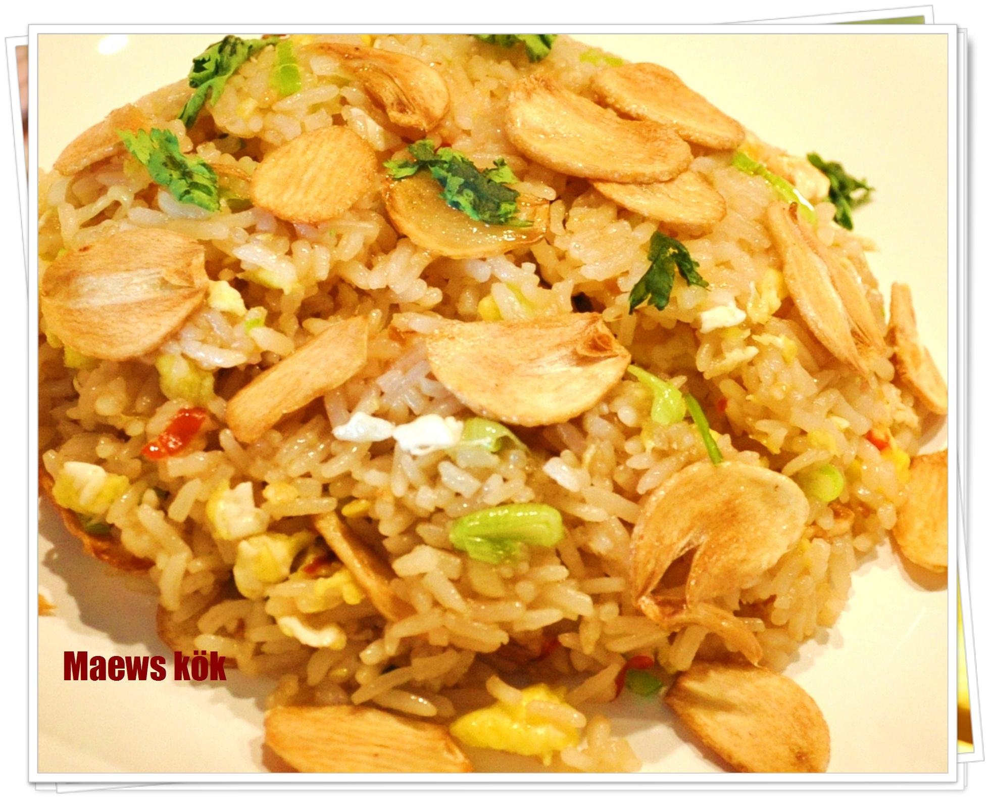 Stekt ris med v..