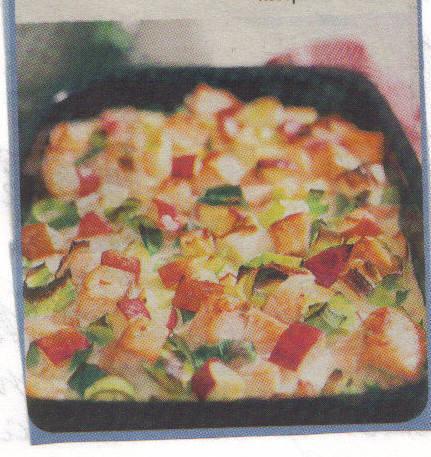 laxlåda purjolök potatis