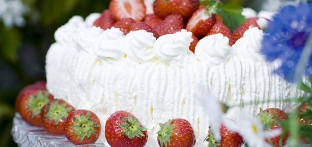 rabarber jordgubbs sås