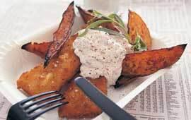 fritera potatisklyftor