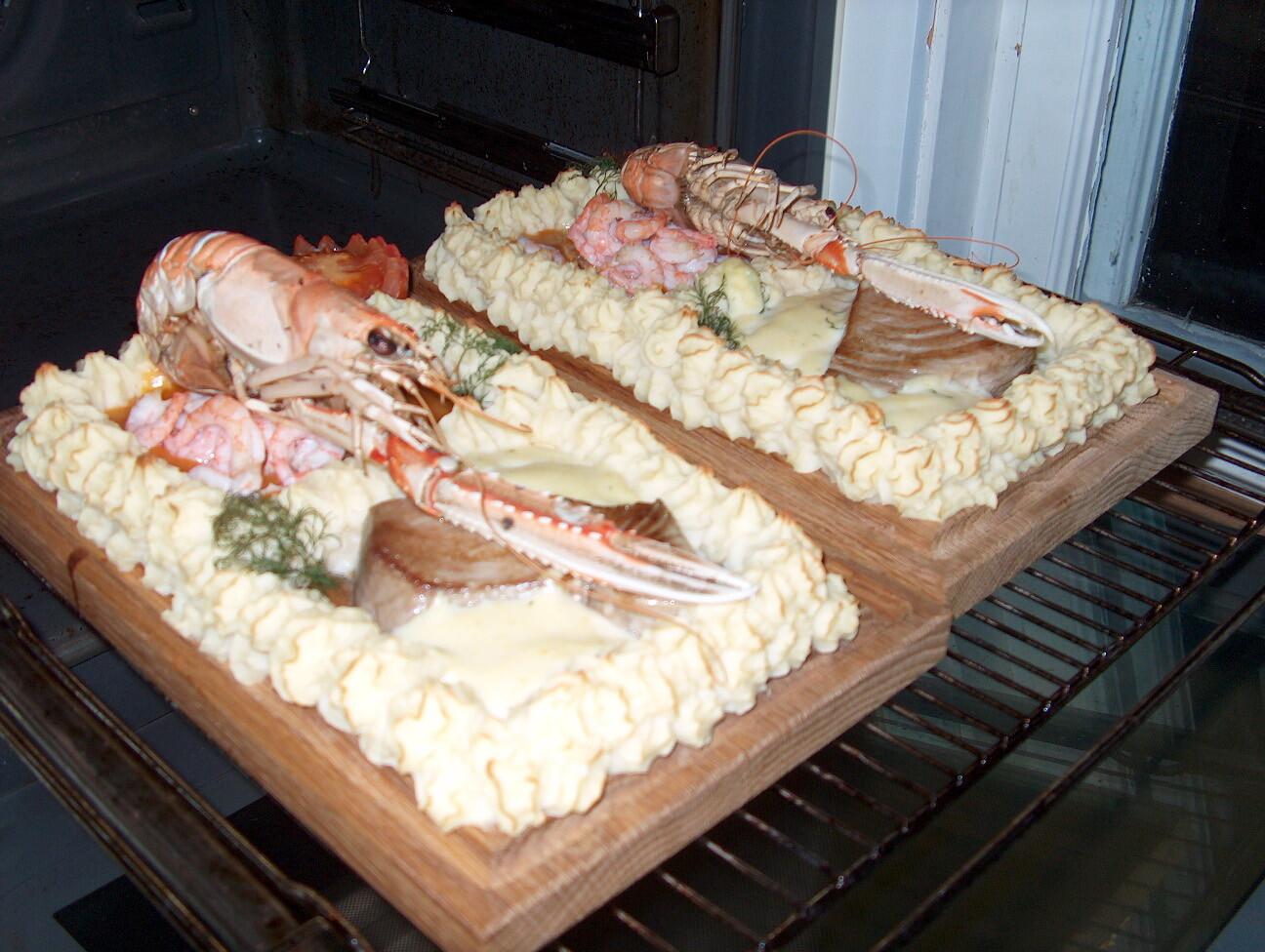 Plankstek på fisk