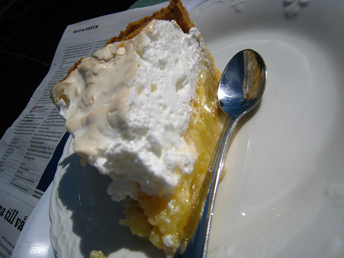 citronmarängpaj