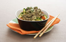 green curry sås