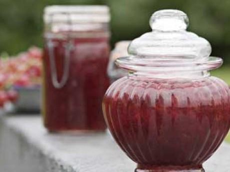 röda vinbär marmelad
