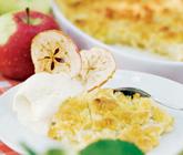 krispig äppelpaj