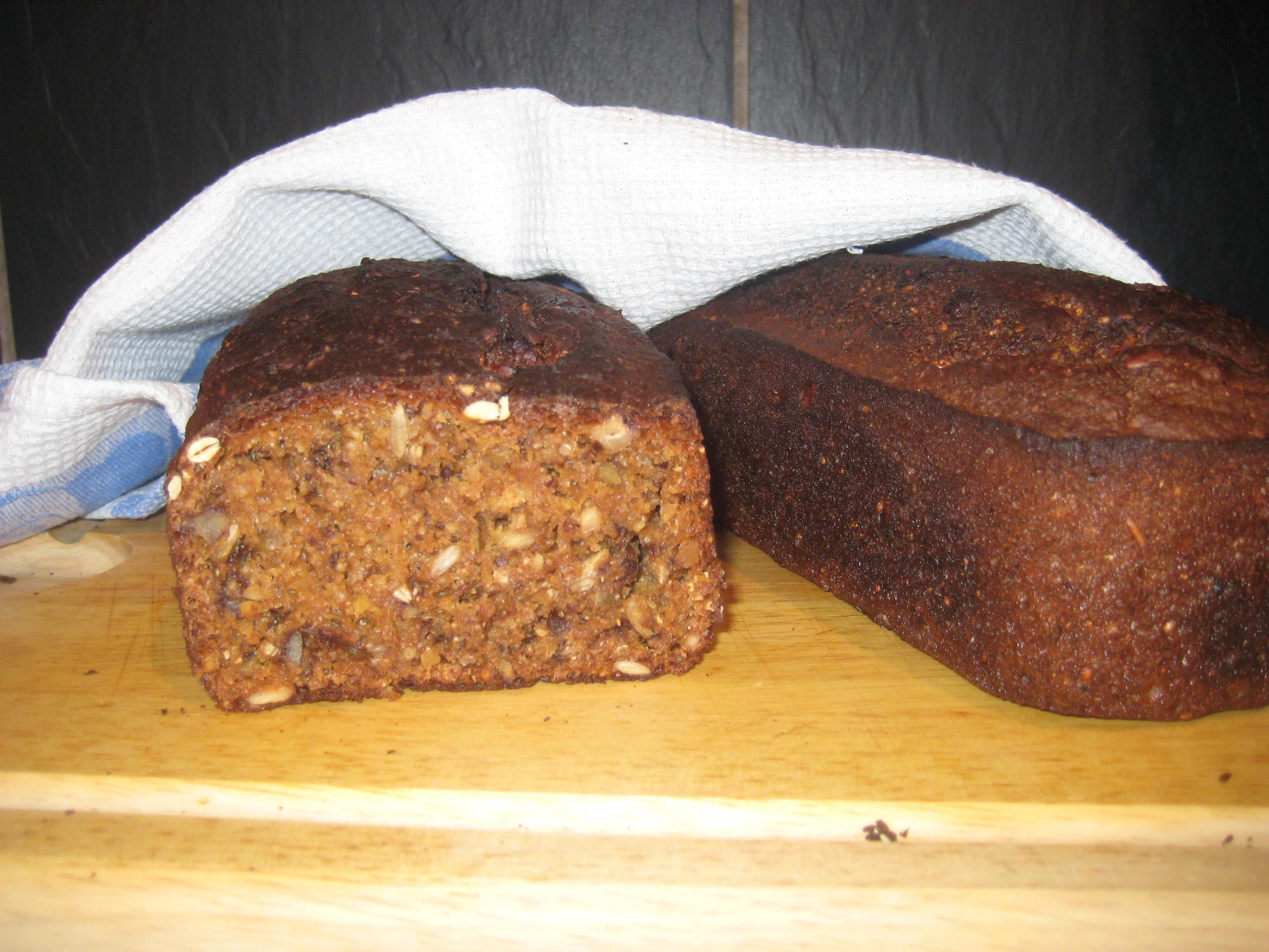 Gott, nyttigt bröd med Valnötter