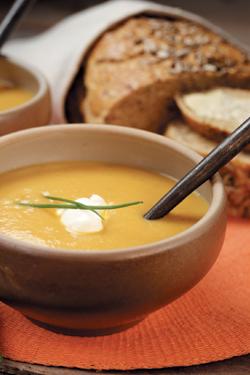 morotssoppa med potatis