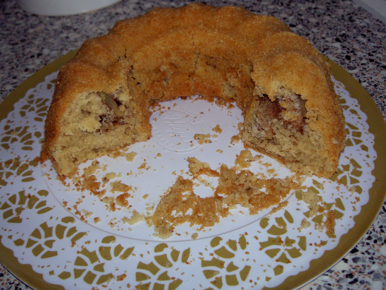 Äppelsockerkaka med dinkelmjöl