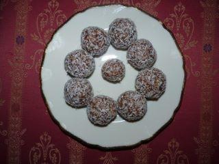 Rawfood vaniljbollar