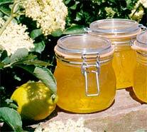 citron fläder marmelad