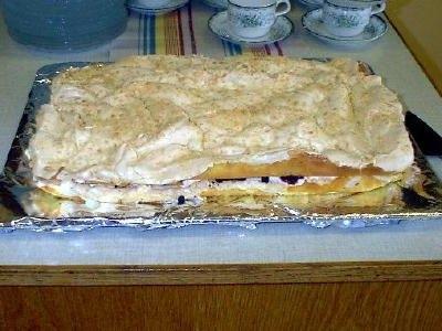 Kalastårta med maräng