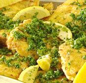 Fisk piccata