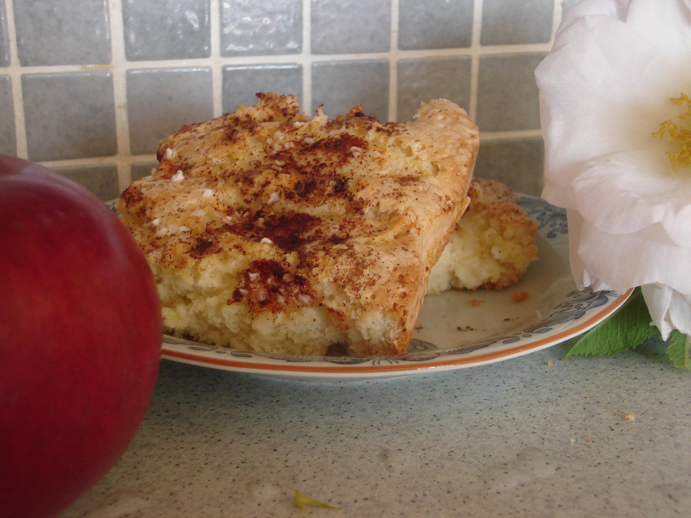 Äppelkaka eller Friggis frukt- eller bärkaka